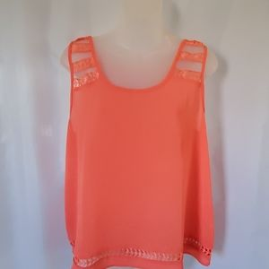 Anthro e(hanger)m blouse size large